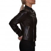 Δερμάτινο Biker Black XSOMA (5175)