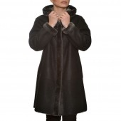 Μουτόν Nappa Lamb 90cm Black Levinsky