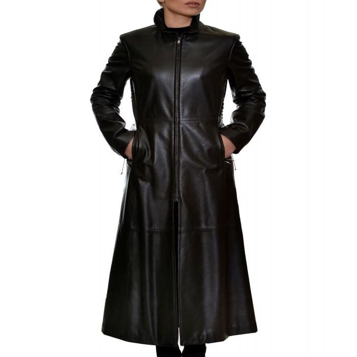 Δερμάτινο Παλτό Black TZIVELI (3240300)