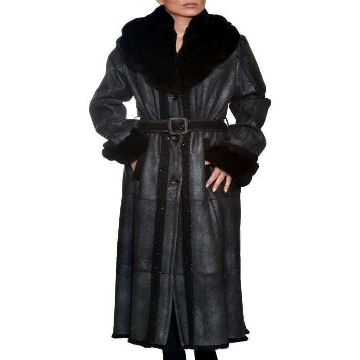 Μουτόν Lapin 131cm Black Grey Langellotti