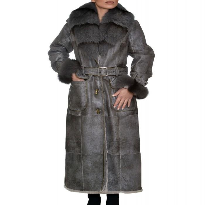 Μουτόν Lapin 132cm Silver Grey Langellotti (L0 833)