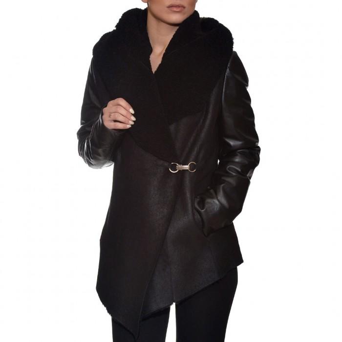 Μουτόν Nappa Lamb 84cm Black Levinsky