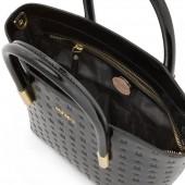Δερμάτινη Τσάντα Arcadia Black Χειρός / Χιαστί