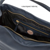 Δερμάτινη Τσάντα Arcadia Rubino Χειρός / Ώμου  (8159)
