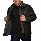 Δερμάτινο Jacket Lamb 70cm Black Guy Laroche (830)