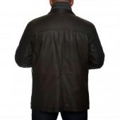 Δερμάτινο Jacket Lamb 76cm Black Guy Laroche (741)