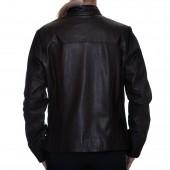 Δερμάτινο Μπουφάν Comfort Black LEVINSKY (PP100)