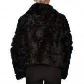 Γουνάκι Capra 50cm Black LEVINSKY (FM1053CAPRA)