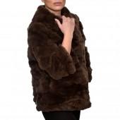 Γουνάκι 55cm Rex Retail Brown LEVINSKY (FM1053)