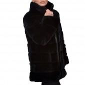 Γουνάκι 80cm Rex Black LEVINSKY (Varga)