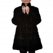 Γουνάκι 85cm Rex Black LEVINSKY (Rosario)