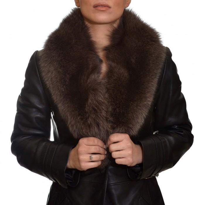 Γούνινος Γιακάς Fox Grey-brown ΣΙΟΥΤΗΣ (9041)