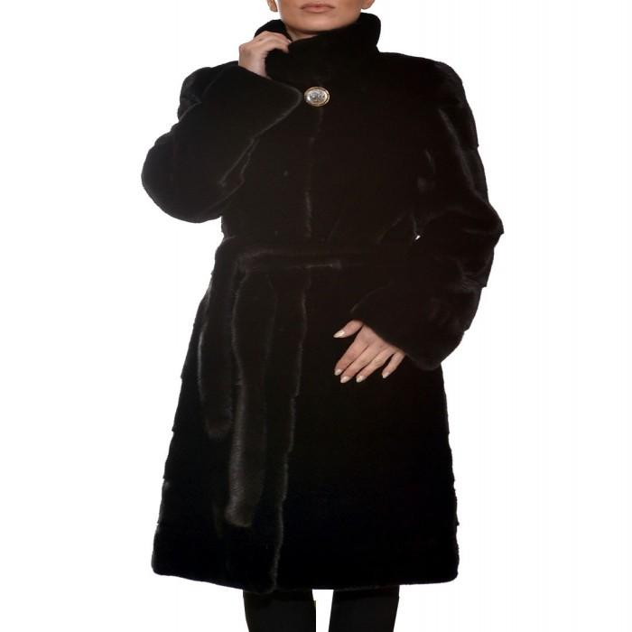 Γούνα Μινκ Blackglama 106cm Black ΣΙΟΥΤΗΣ (2188)