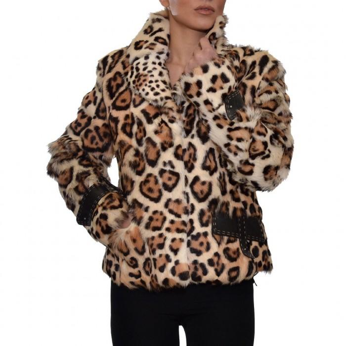 Γουνάκι Capra 58cm Leopard ROSSI (4539)