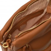 Δερμάτινη τσάντα Arcadia ταμπά Χειρός/ Χιαστί (3776)