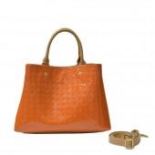 Δερμάτινη τσάντα Arcadia Papaya Χειρός/ Χιαστί (4838)