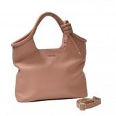 Δερμάτινη τσάντα Arcadia Nude Χειρός/ Χιαστί (4789)